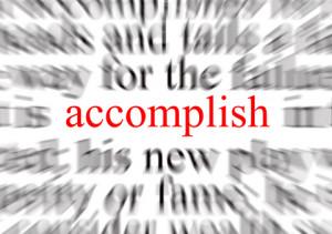 Tip #5: Creating an Accomplishment List
