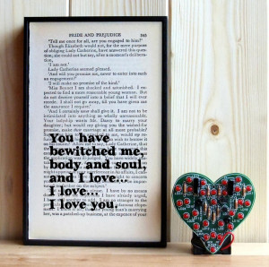 Home > Products > Pride and Prejudice Mr Darcy Quote