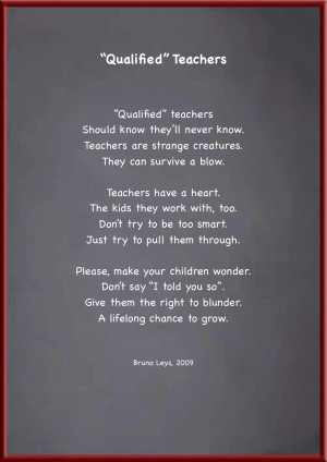 Teacher Retirement Quotes And Poems They will make great teachers