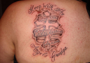 Rip Grandpa Tattoo