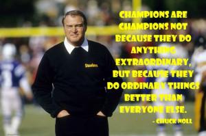 Coach #ChuckNoll #NFL #Steelers