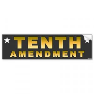 the tenth amendment