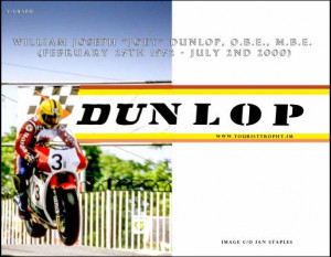 Joey Dunlop the Rivals Parade confirmed. Joey Dunlop (represented by ...