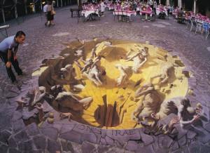 Amazing 3D street arts