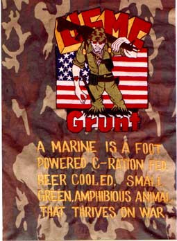 Marine Sayings (submitted by Paul Kasper)