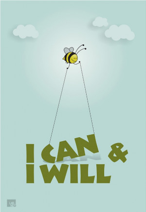 can and I will.