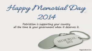 Happy Memorial Day 2014 Wishes Greetings Cards With Quotes Sayings