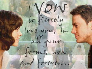 vow to fiercely love you...