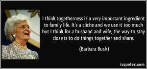 family togetherness quotes