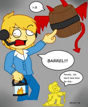 Pewdiepie Barrels Game Online