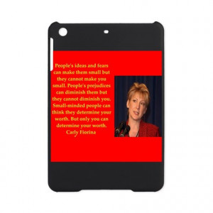 2016 Gifts > 2016 Tablet Cases > carly fiorina quote iPad Mini Case