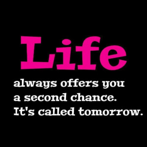 Quotes about offer you second chance