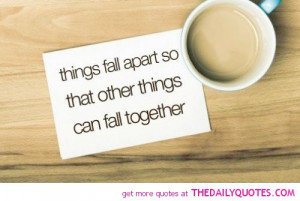 Famous Quotes In Things Fall Apart ~ Things Fall Apart | The Daily ...