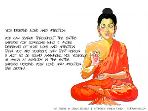 Buddha Quotes On Love Yourself