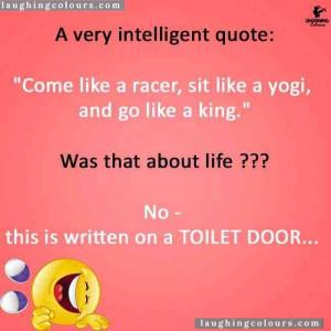 very intelligent quote
