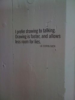 ... allows less room for lies le corbusier # quotes # citas # arquitectura