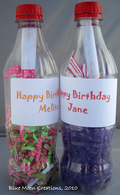 have been sending happy birthday wishes in a bottle