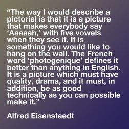 alfred eisenstaedt quote - Google Search