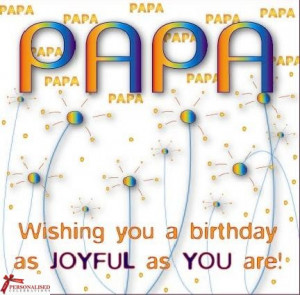 Papa / Dad Birthday Card