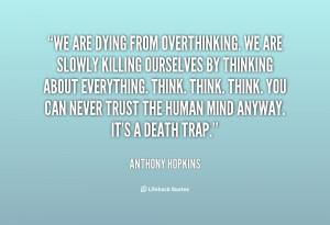 home over thinking quote over thinking quote 3