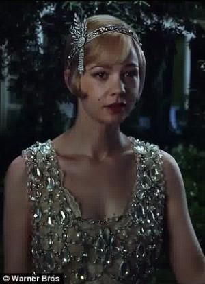 Lovers reunite: Gatsby runs into Daisy Buchanan and the pair rekindle ...