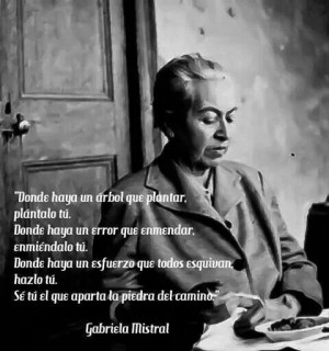 Gabriela MistralGabriela Mistral, Book, Visual Quotes, About Books ...