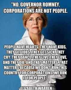Senators Elizabeth, Quotes, Elizabeth Warren, Politics Issues ...