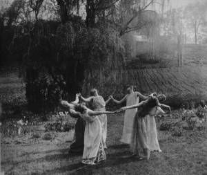 black and white, dance, nature, pegan, vintage, witches, women