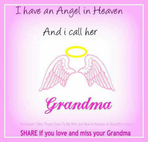 Missing Grandma In Heaven Quotes Quotes picture... missing