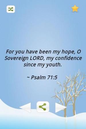Inspiring Bible Verses-Youth - screenshot