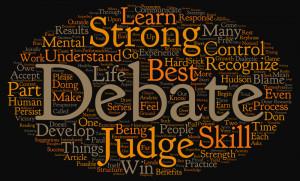 Debating to Build Mental Strength: Part Three