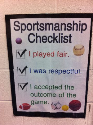 quotes about good sportsmanship
