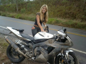 Girls Riding Superbikes