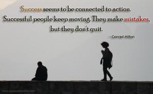 Conrad Hilton Quote