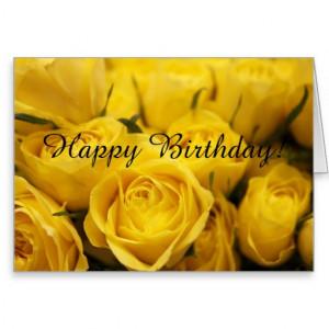 happy birthday yellow rose bud 9829 4326 happy birthday tia80 4326 ...