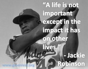 Servant Leadership - Jackie Robinson