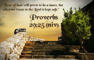 Bible Verses On Fear Proverbs