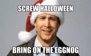 ... of Clark Griswold from Christmas Vacation ready for some eggnog