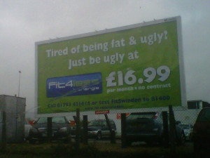 Tired Of Being Fat And Ugly Just Be Ugly at 16.99 per month