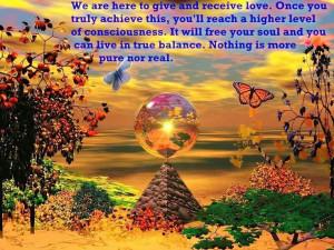 receiving loveAndroid, Dreams, Butterflies, Colors, Motivation Quotes ...