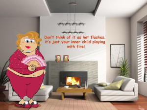 ... to put her inner child in a time out! #maggie #menopause #humor #funny