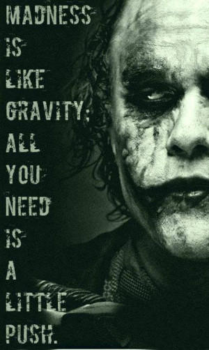 The Joker Epic quote