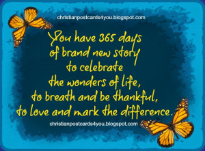 ... happy birthday quotes, free life quotes, messages. New year greetings