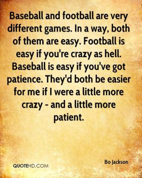 Bo Jackson Baseball Quotes
