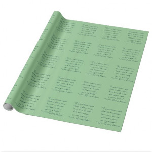 John Quincy Adams Leadership Quote Gift Wrap Paper
