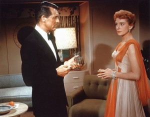 is never rightCary Grant and Deborah Kerr in