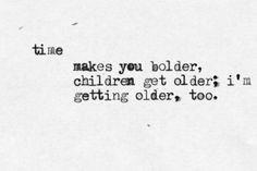 ... Typewriter Old Song (Landslide) / Fleetwood Mac via Quote A Lyric More