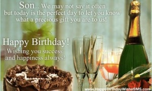 Birthday wishes for son: Happy Birthday Son Quotes, Messages Pictures
