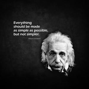 inspirational ipad background albert einstein everything should be ...