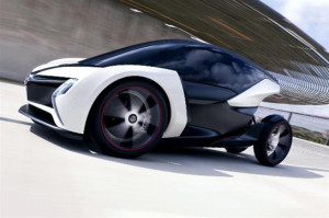 image for 'Vauxhall reveals next generation electric car'